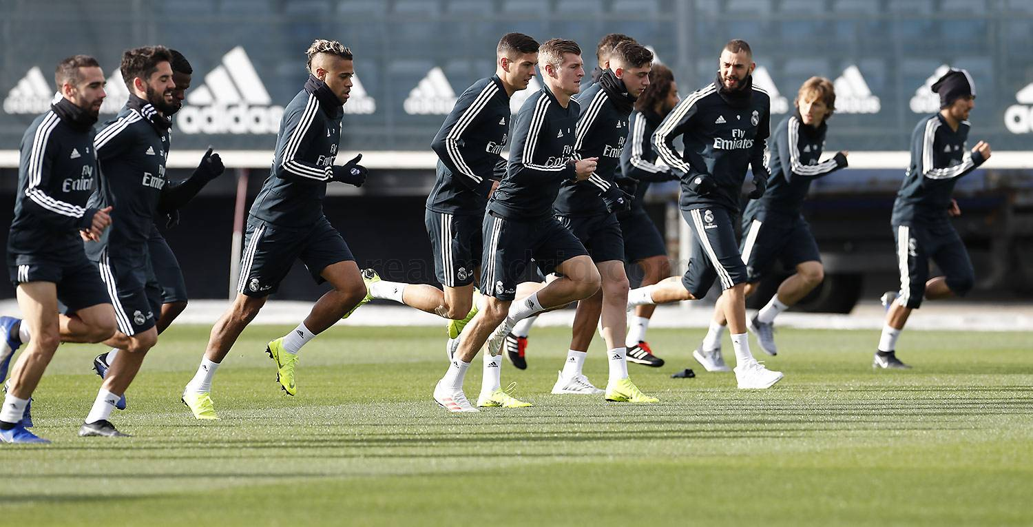 Real Madrid - Entrenamiento del Real Madrid - 25-11-2018