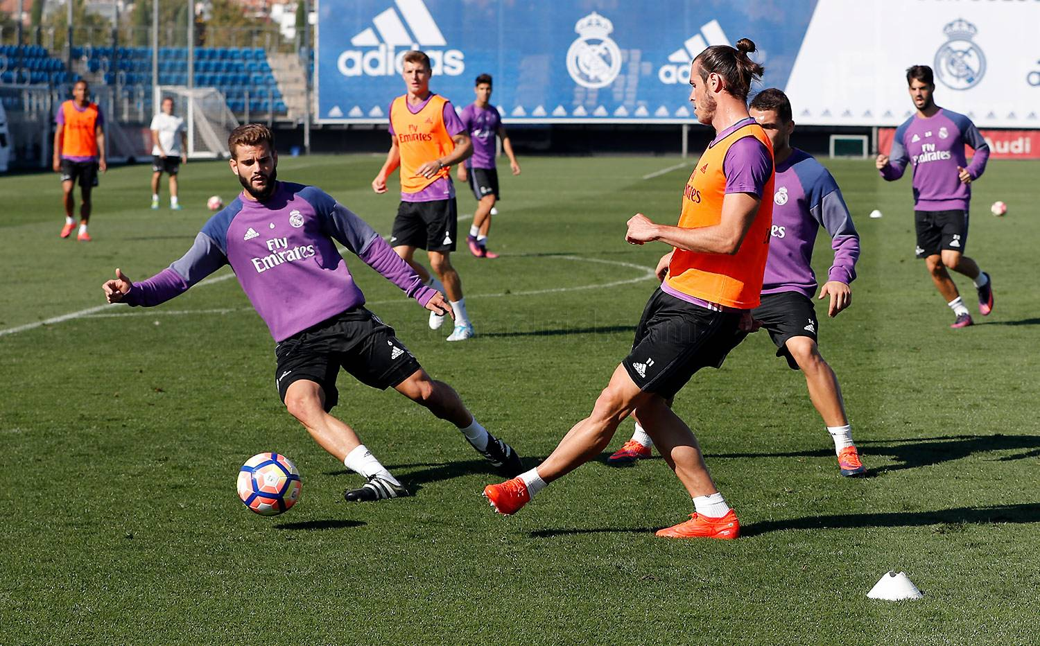 Real Madrid - Entrenamiento del Real Madrid - 01-10-2016