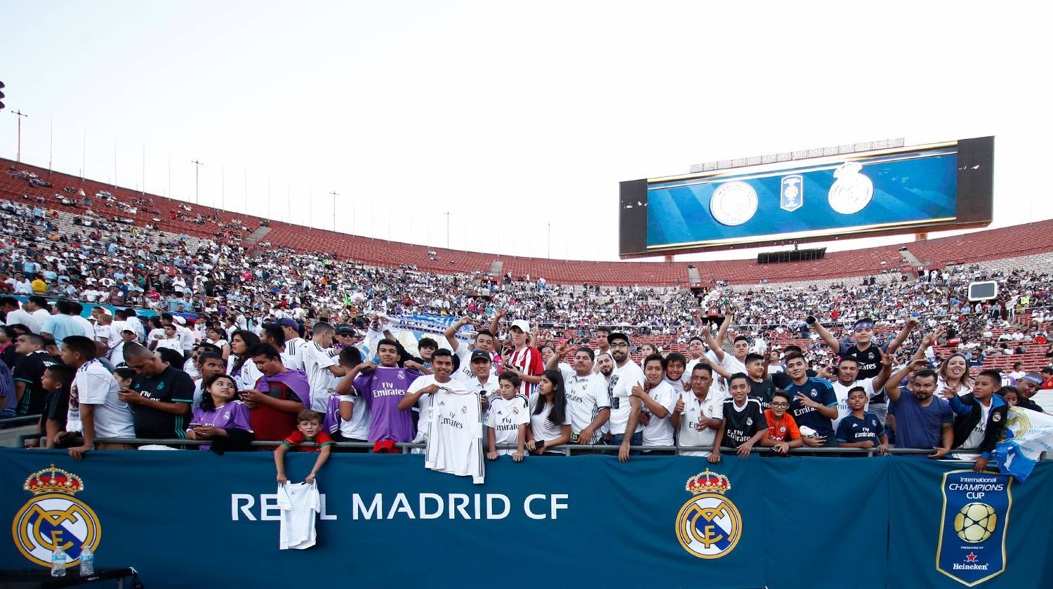 Real Madrid - Manchester City - Real Madrid - 27-07-2017