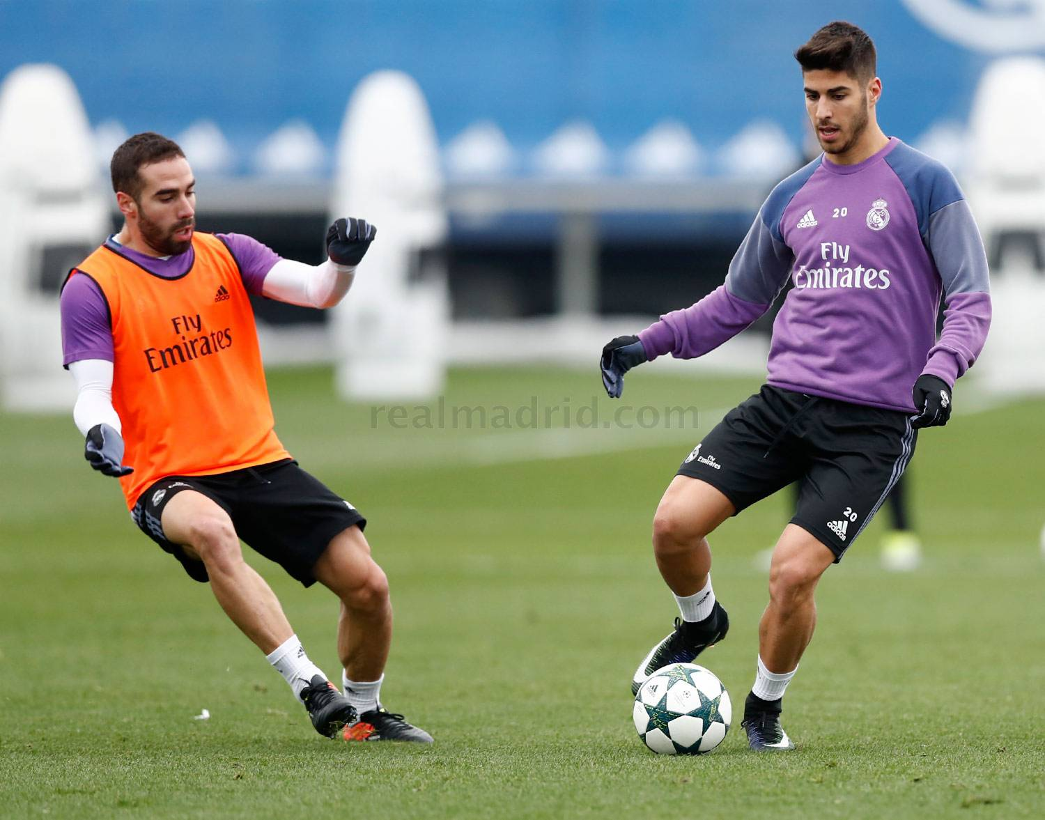 Real Madrid - Entrenamiento del Real Madrid - 05-12-2016