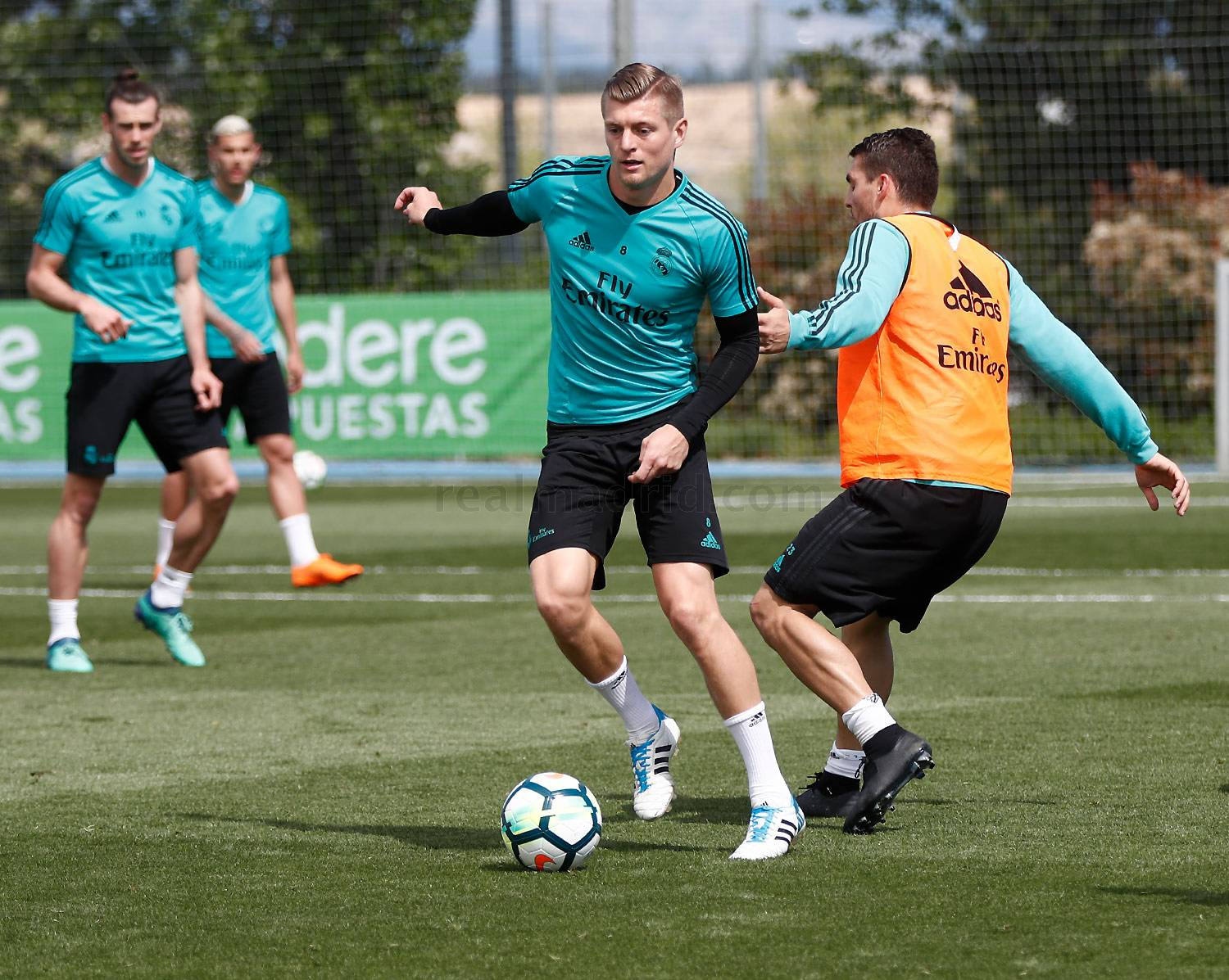 Real Madrid - Entrenamiento del Real Madrid - 03-05-2018