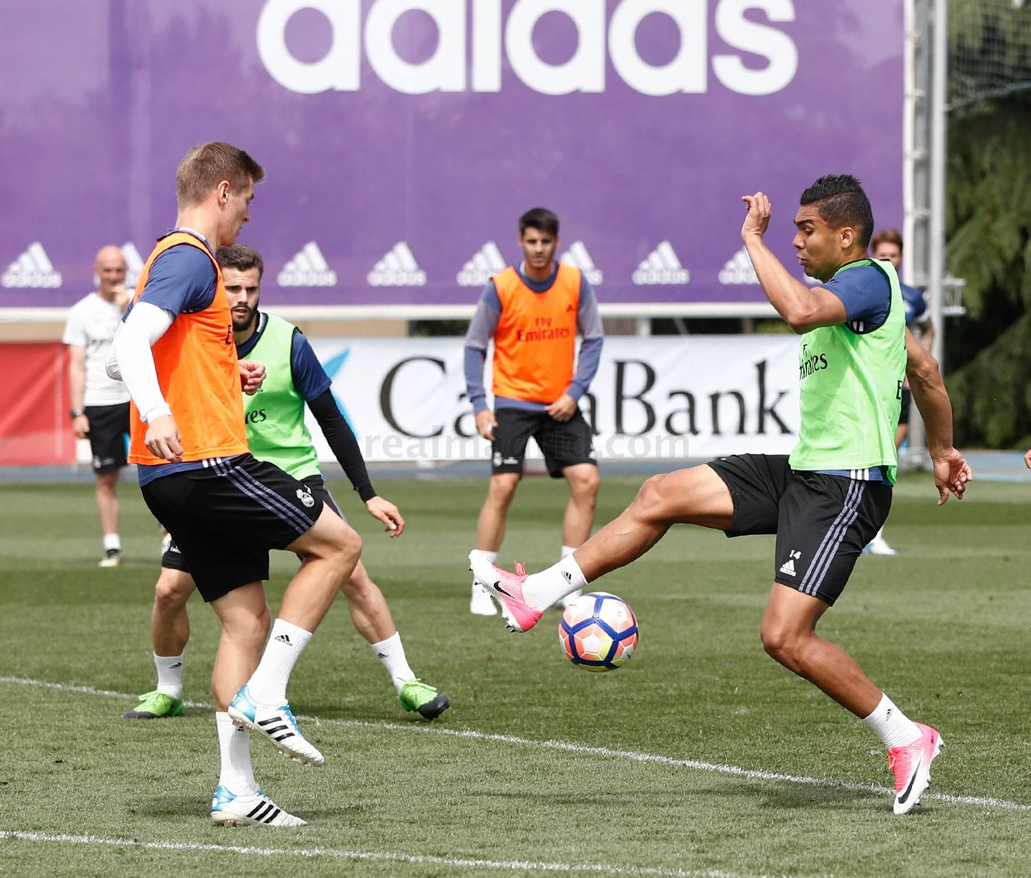 Real Madrid - Entrenamiento del Real Madrid - 16-05-2017