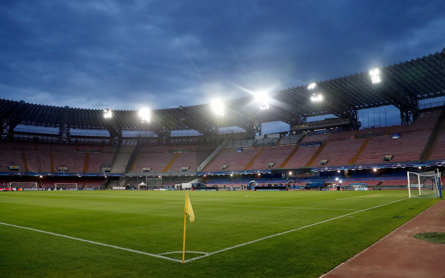 Real Madrid - Estadio San Paolo - 06-03-2017