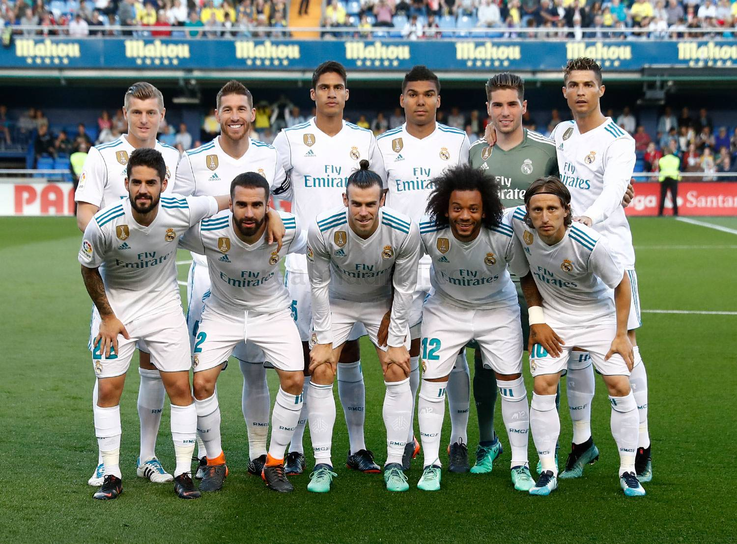 Real Madrid - Villarreal - Real Madrid  - 19-05-2018