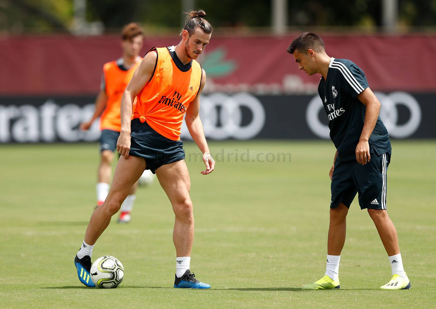 Real Madrid - Entrenamiento del Real Madrid en la Universidad de Barry - 31-07-2018