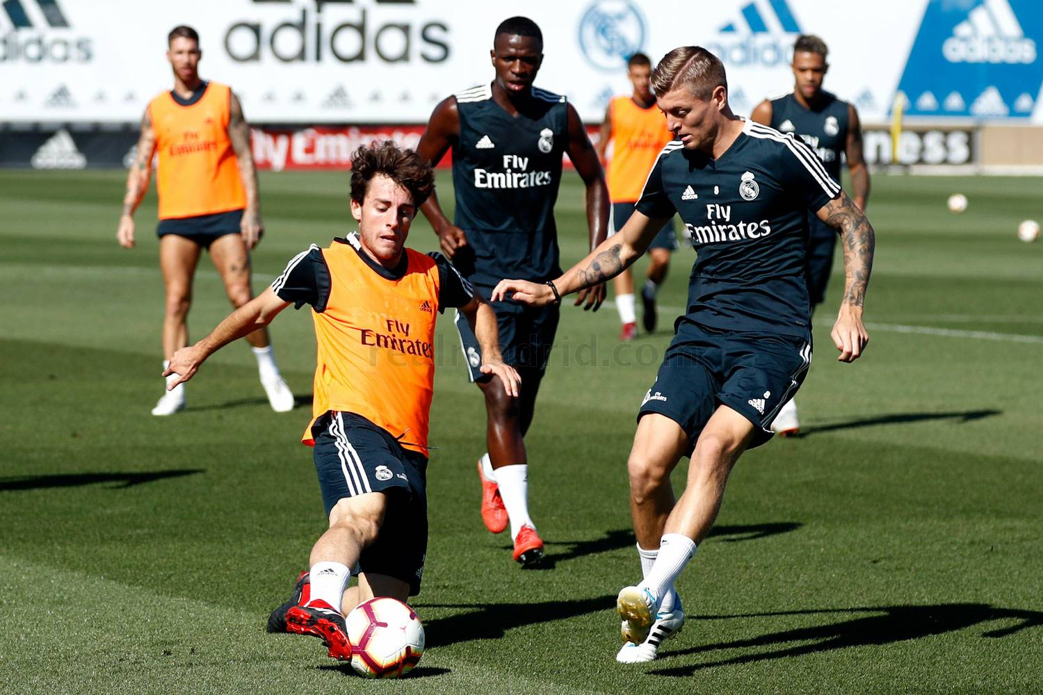 Real Madrid - Entrenamiento del Real Madrid - 28-09-2018