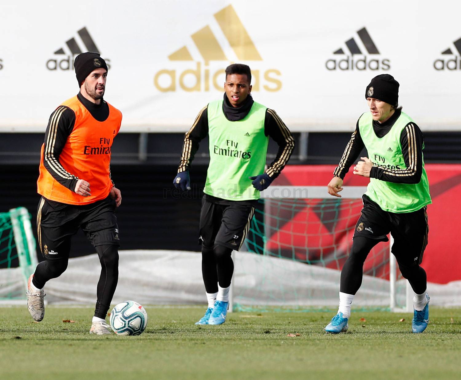 Real Madrid - Entrenamiento del Real Madrid  - 13-12-2019