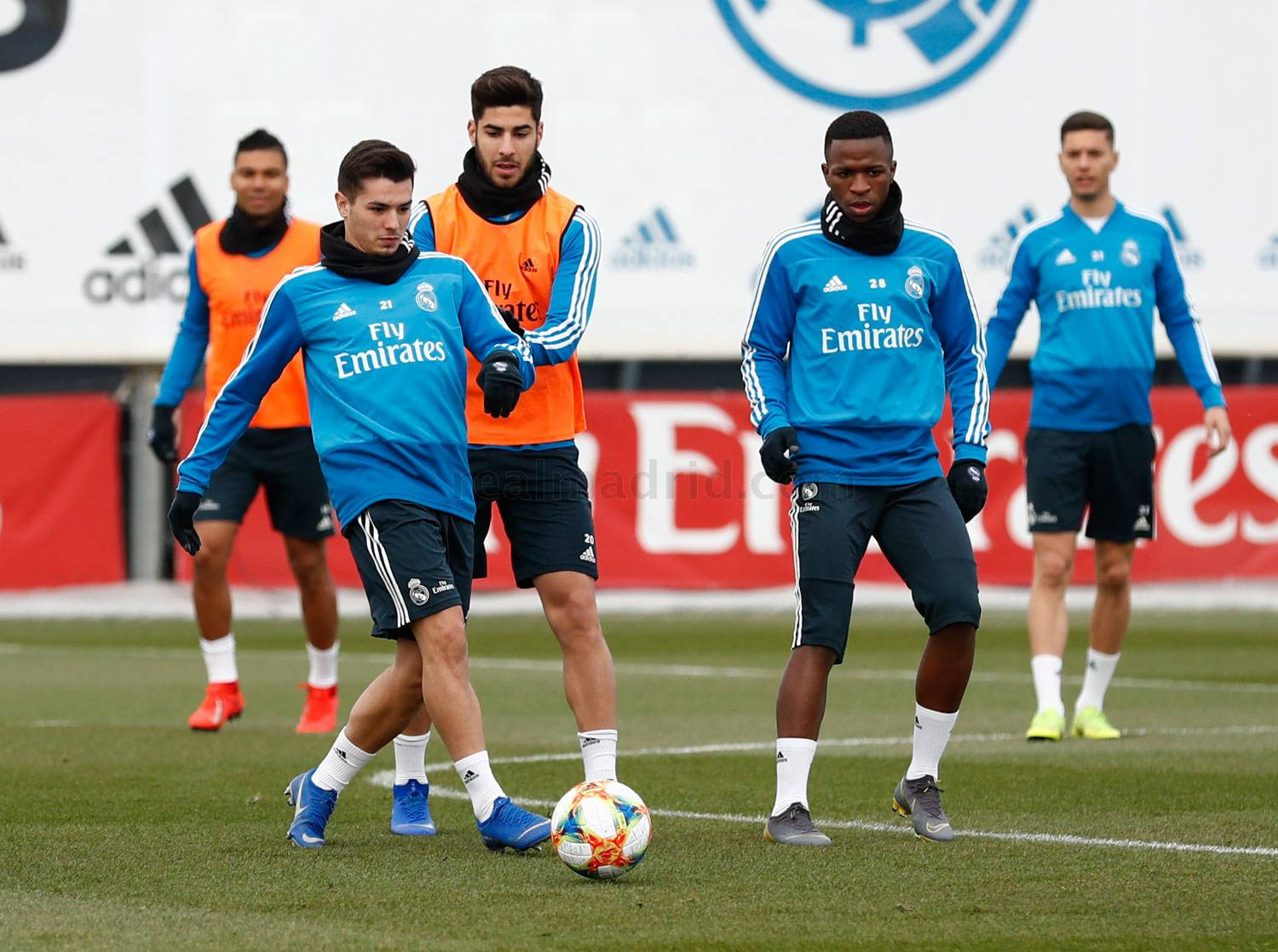 Real Madrid - Entrenamiento del Real Madrid - 29-01-2019