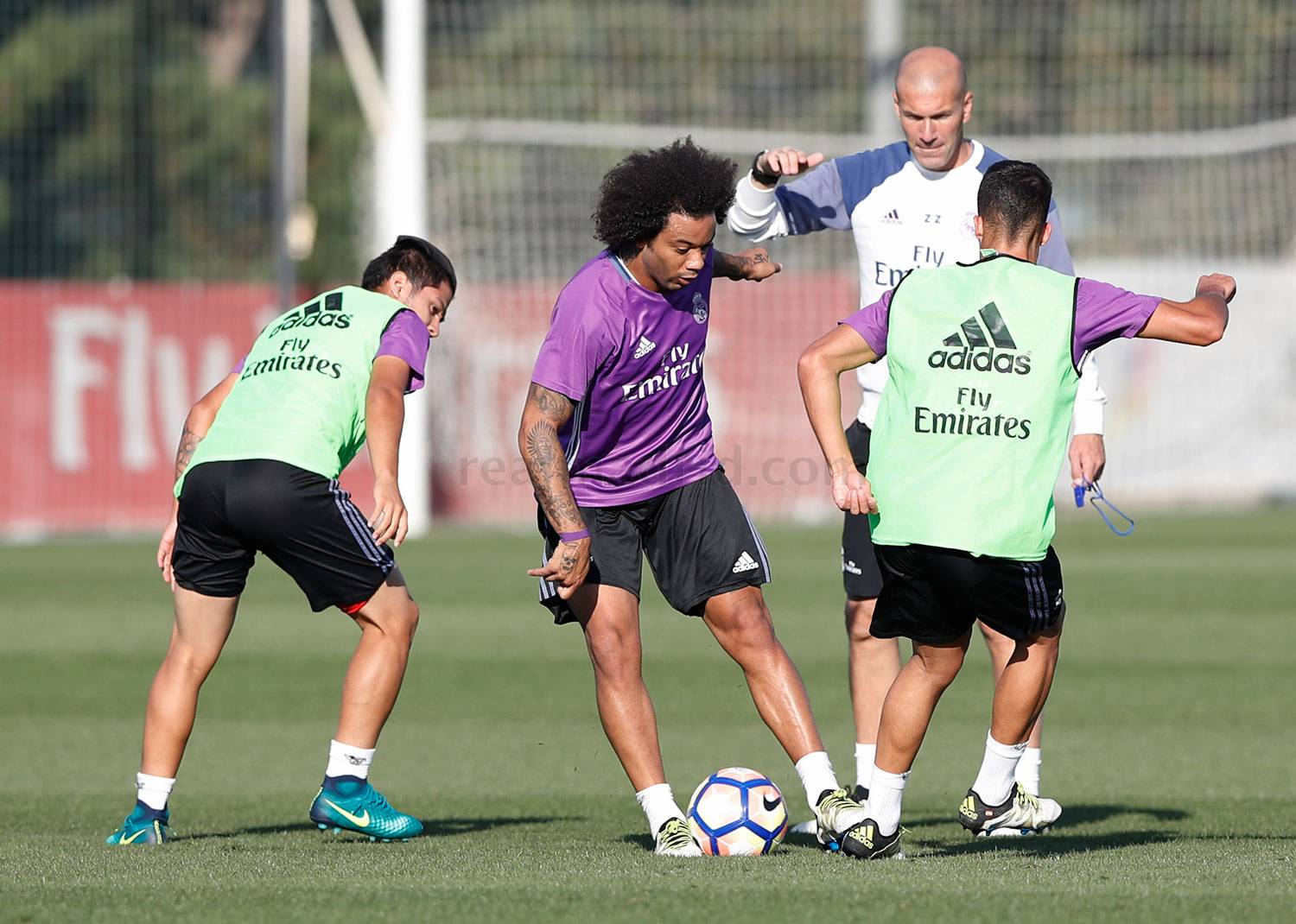Real Madrid - Entrenamiento del Real Madrid - 10-10-2016