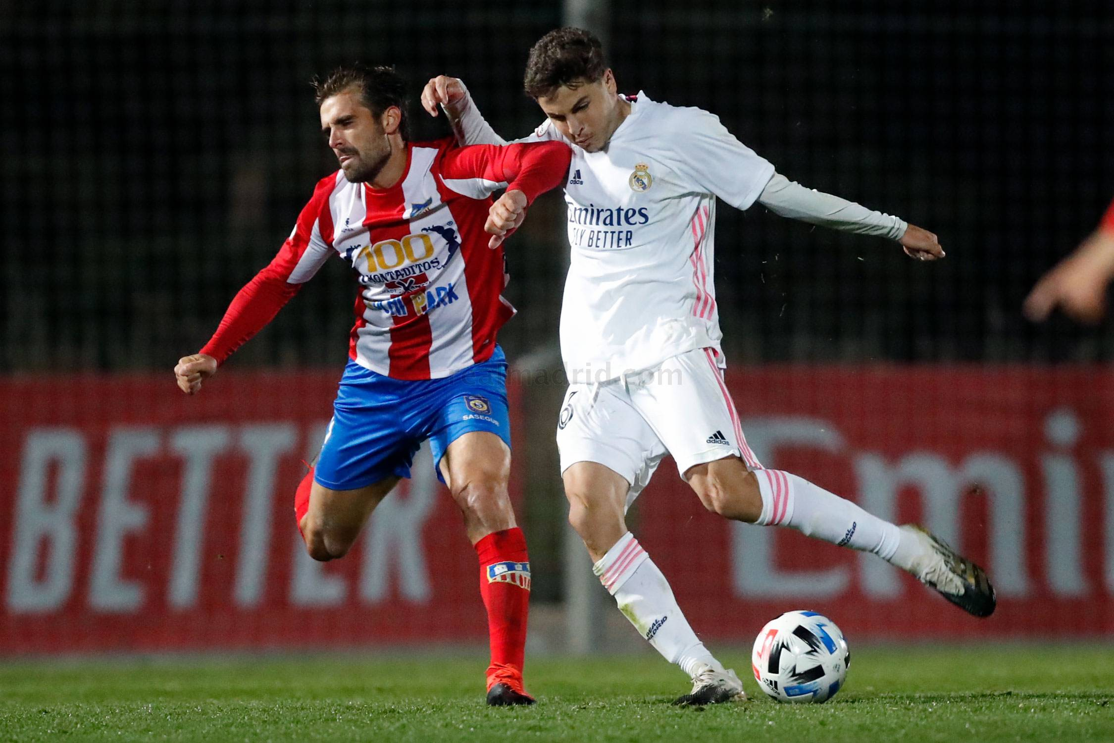 Real Madrid - Real Madrid Castilla - Navalcarnero - 21-11-2020