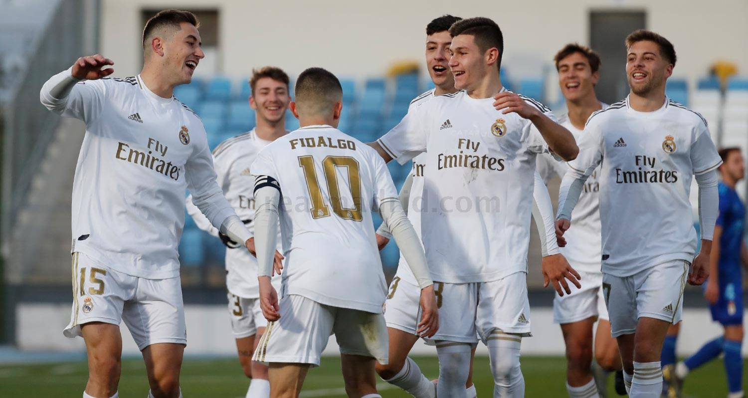Real Madrid - Real Madrid Castilla - Oviedo B - 23-11-2019