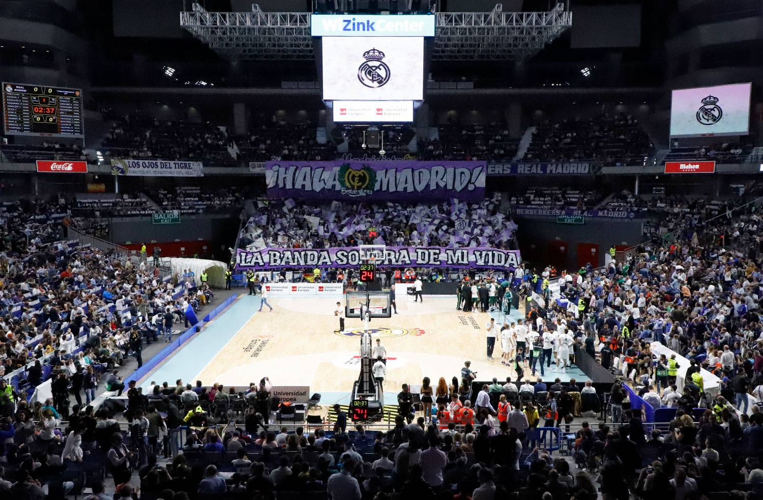 Real Madrid - Real Madrid - Panathinaikos - 17-04-2019