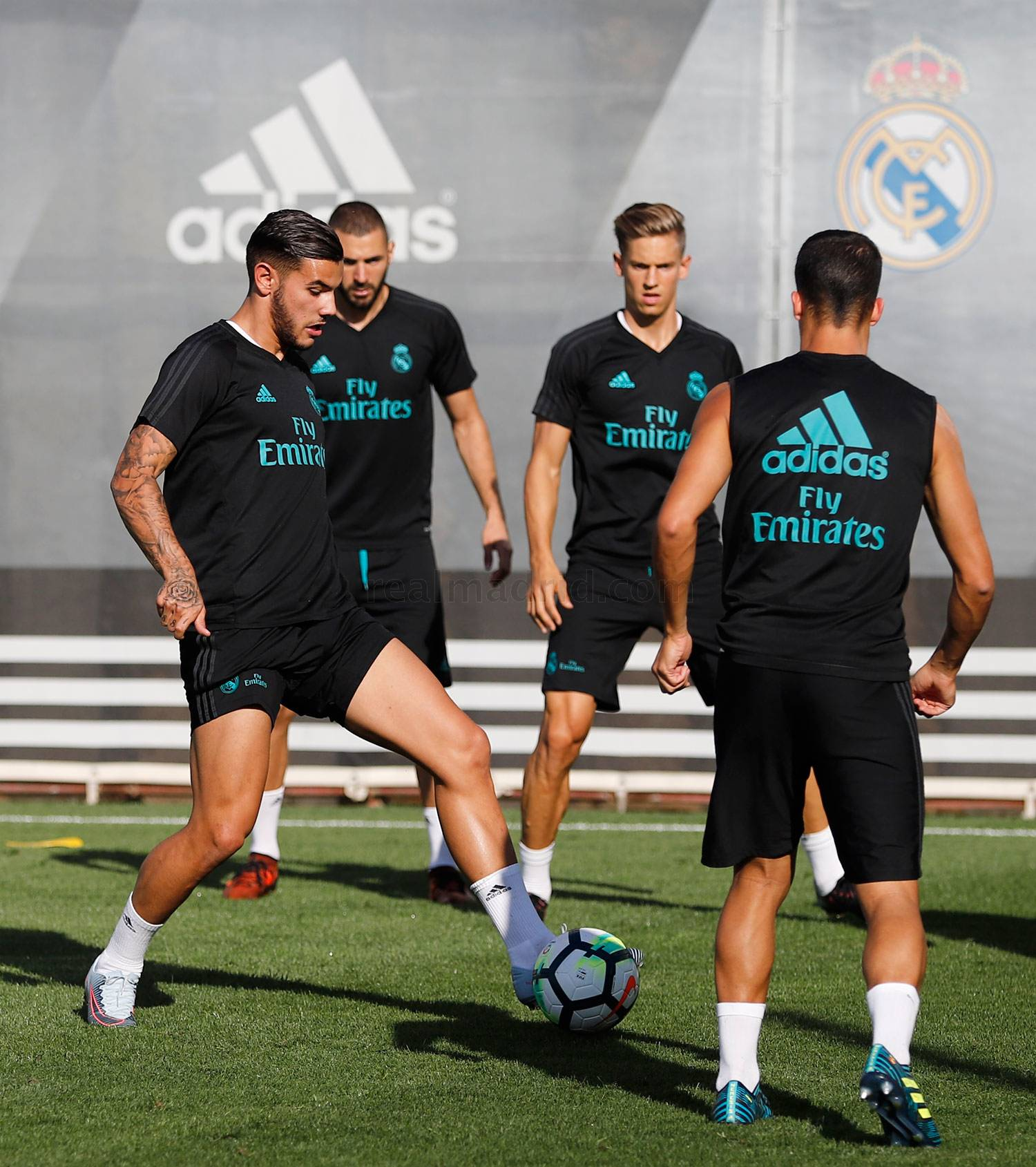 Real Madrid - Entrenamiento del Real Madrid - 04-10-2017