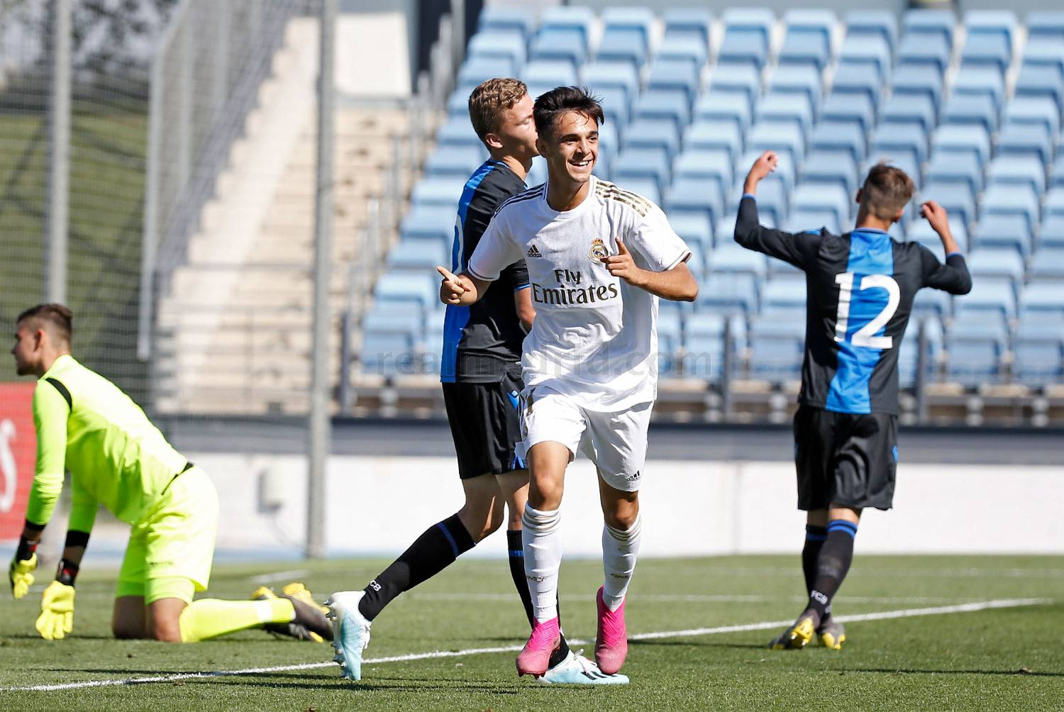 Real Madrid - Juvenil A - Brujas - 01-10-2019