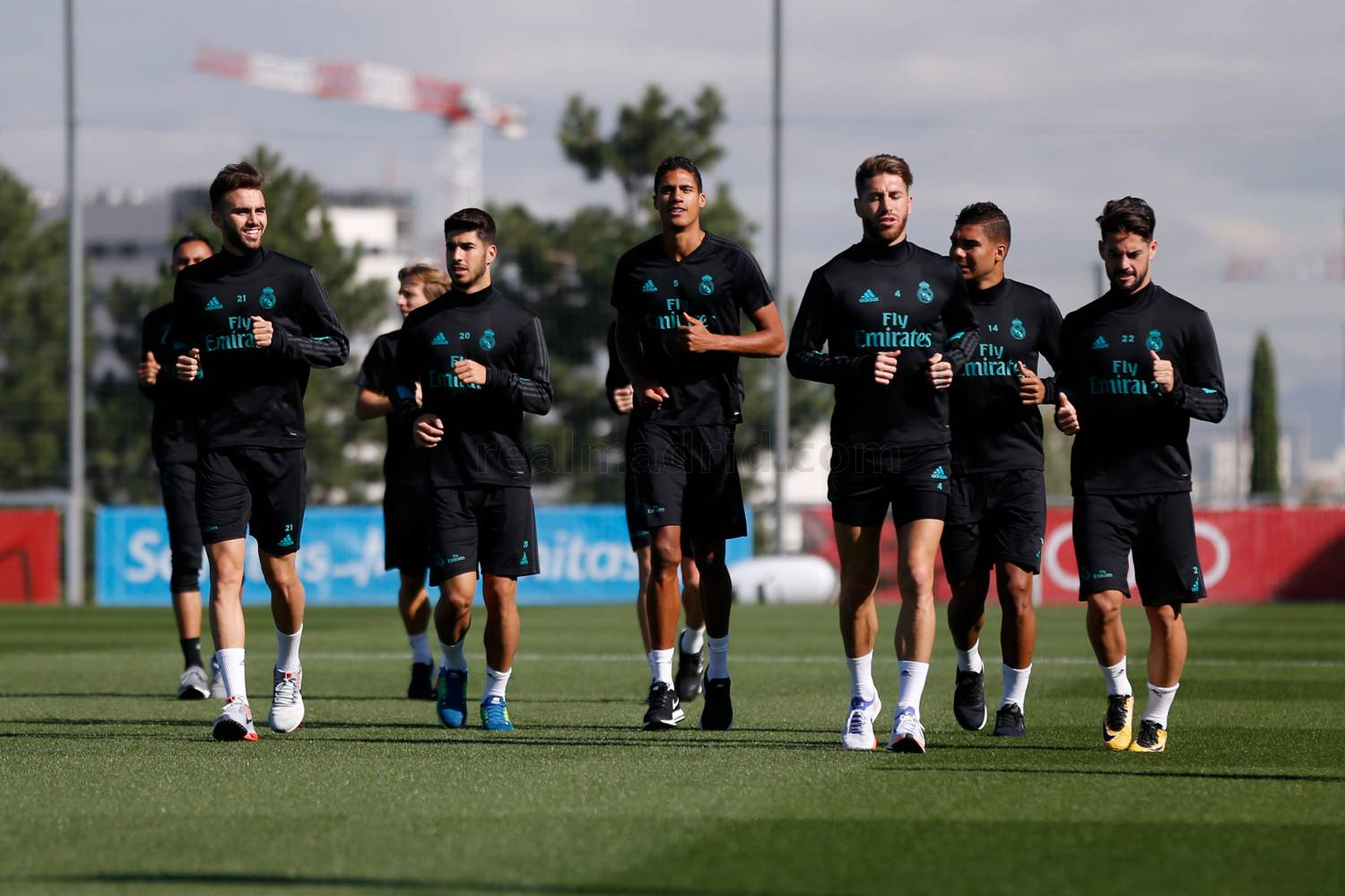 Real Madrid - Entrenamiento del Real Madrid - 18-09-2017
