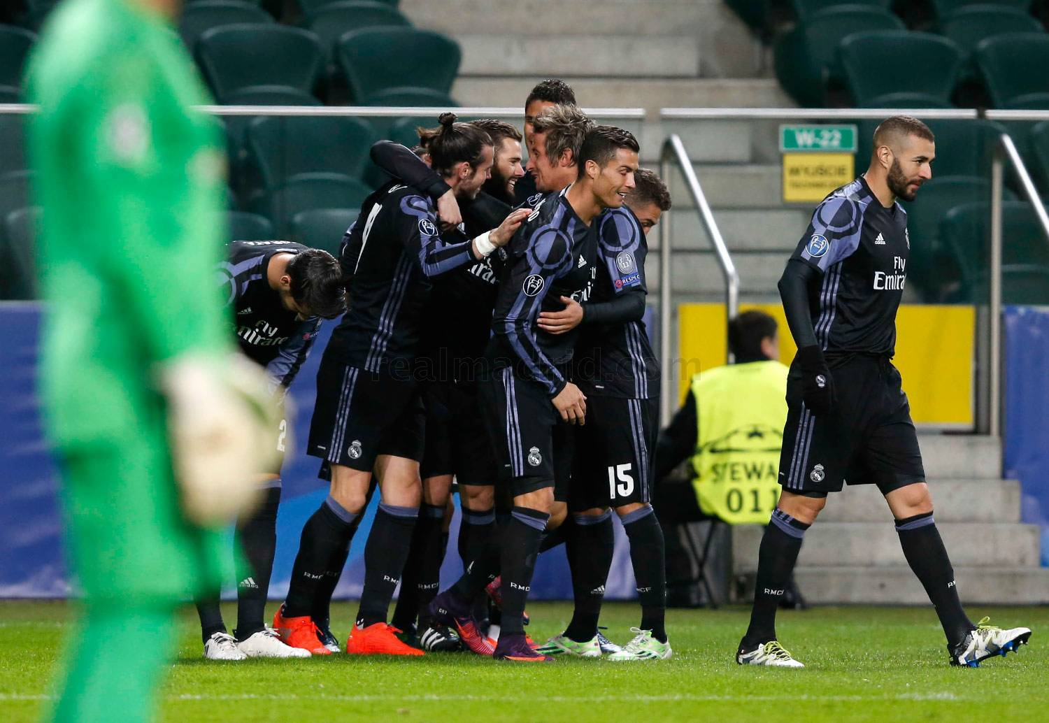 Real Madrid - Legia Varsovia - Real Madrid - 02-11-2016