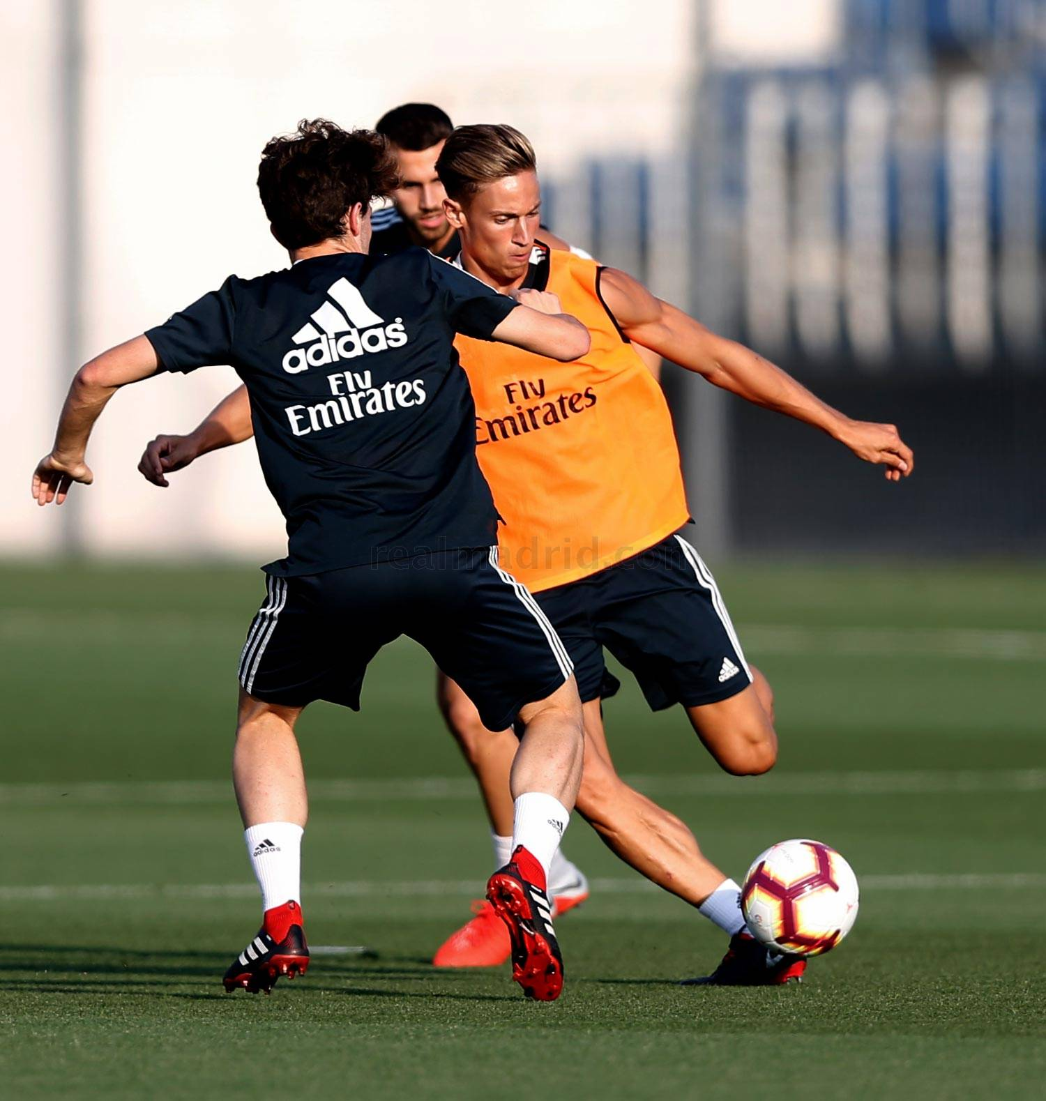 Real Madrid - Entrenamiento del Real Madrid - 17-08-2018