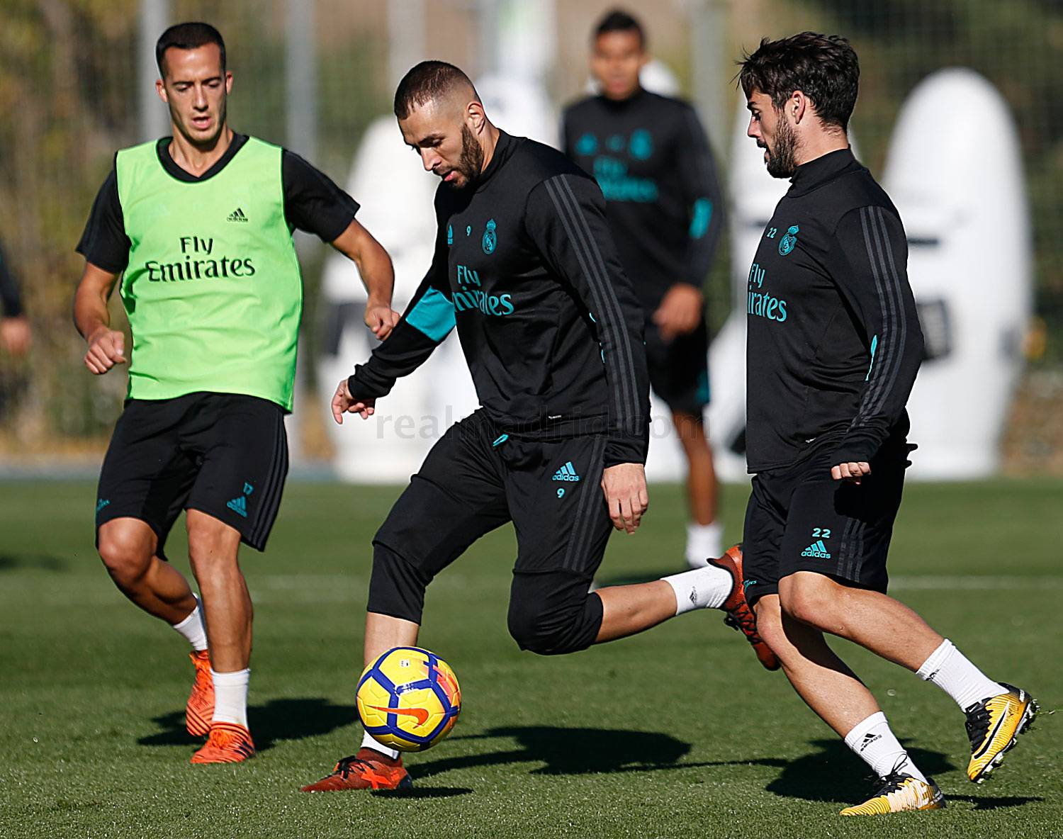 Real Madrid - Entrenamiento del Real Madrid - 28-10-2017