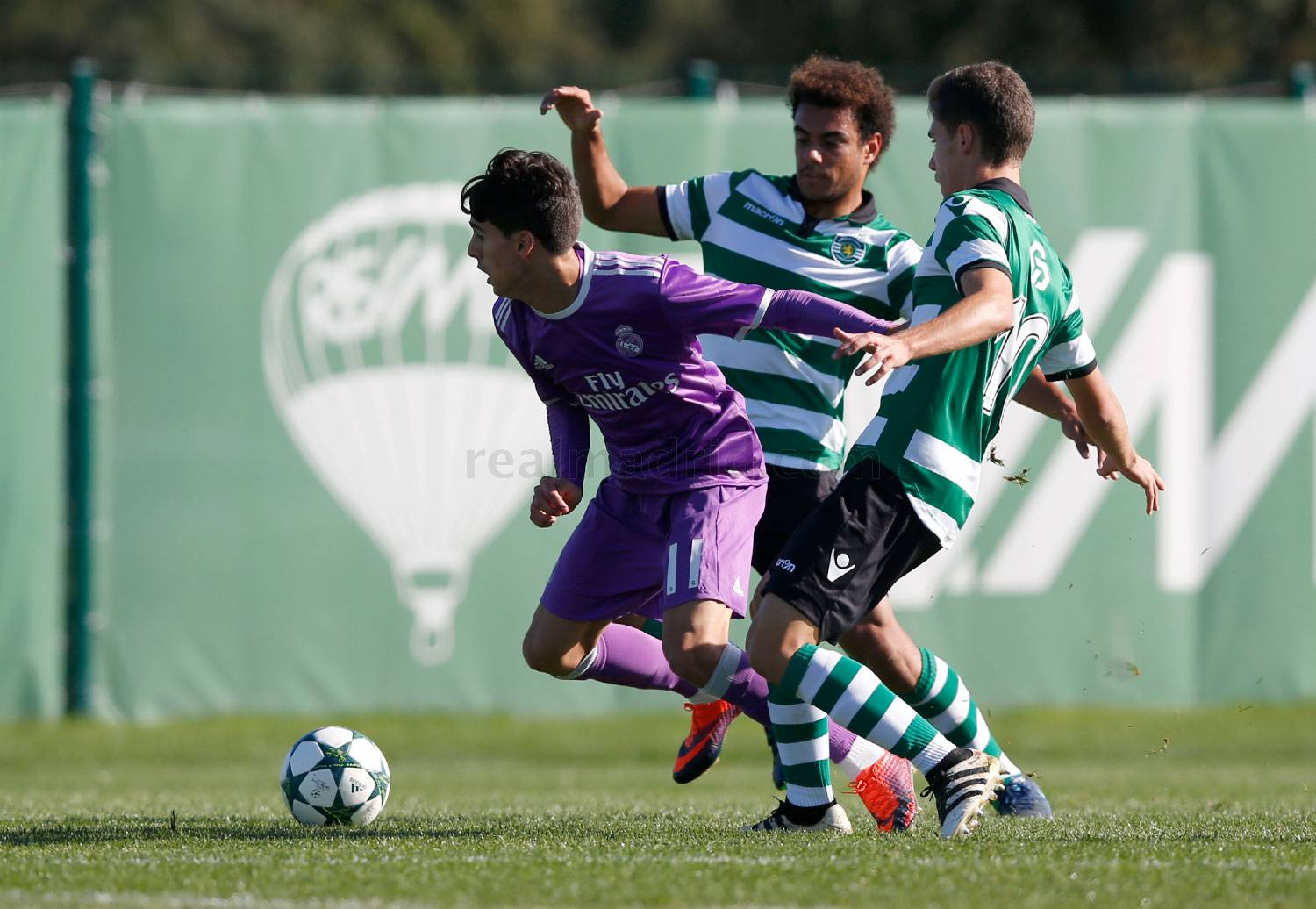 Real Madrid - Sporting Portugal - Juvenil A - 22-11-2016