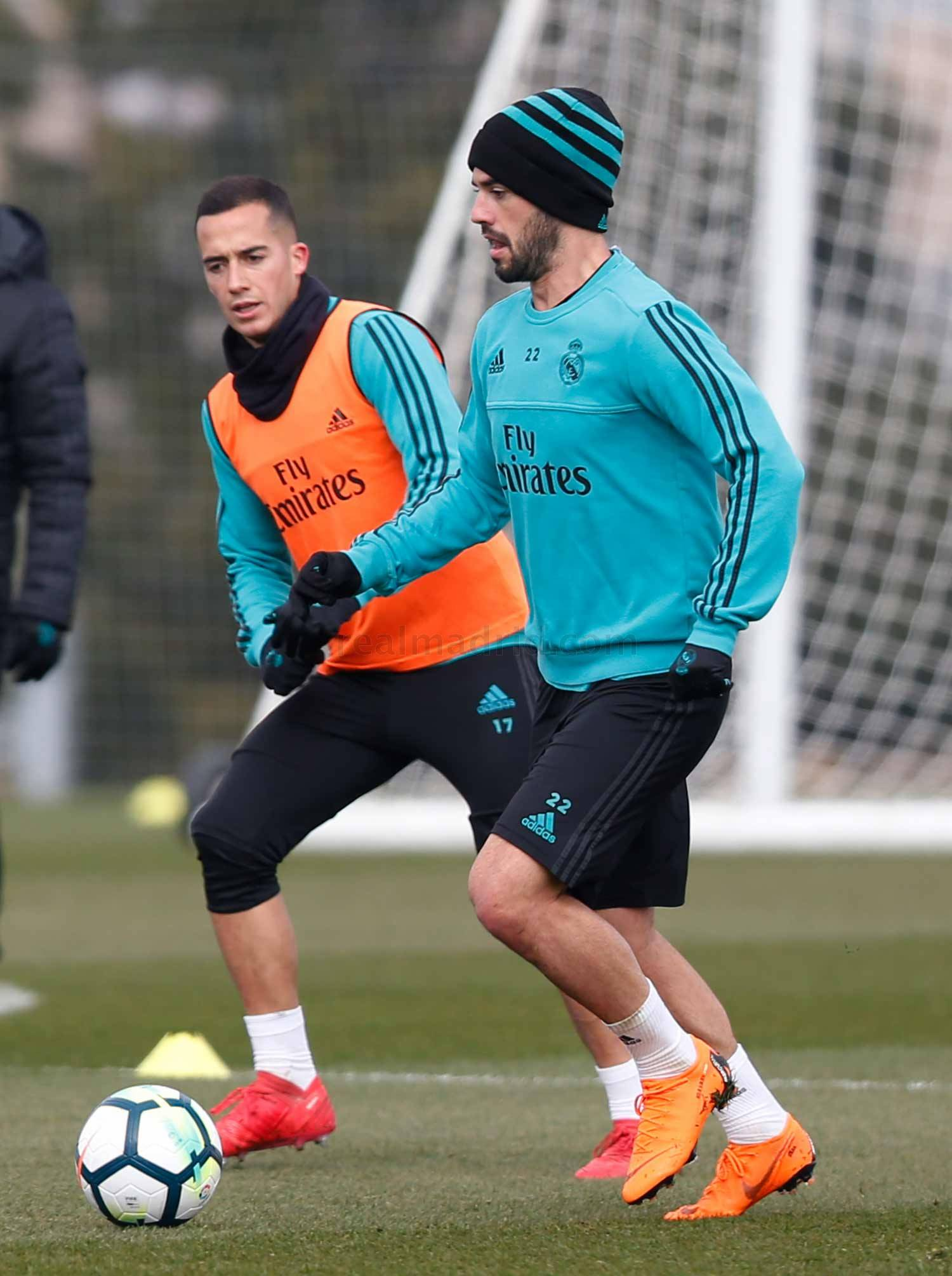 Real Madrid - Entrenamiento del Real Madrid - 16-02-2018