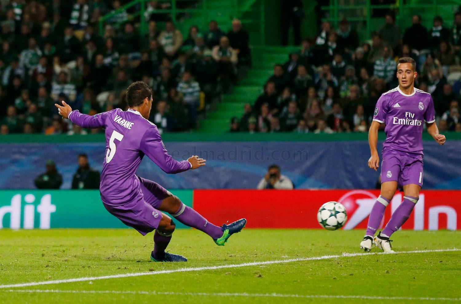 Real Madrid - Sporting de Portugal - Real Madrid - 22-11-2016