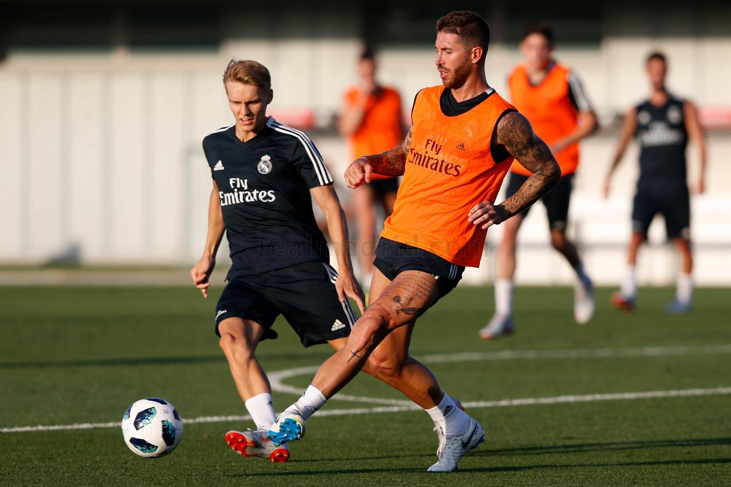 Real Madrid - Entrenamiento del Real Madrid - 10-08-2018