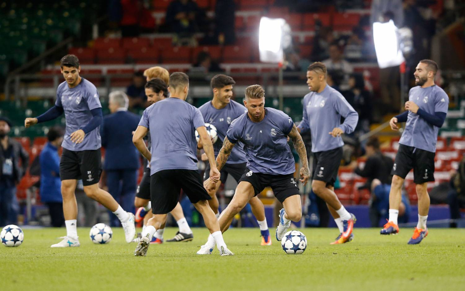Real Madrid - Entrenamiento del Real Madrid - 02-06-2017