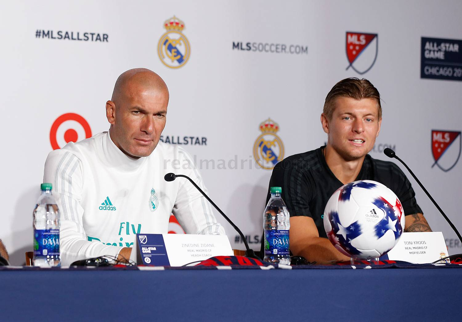 Real Madrid - Conferencia de prensa en Chicago - 01-08-2017