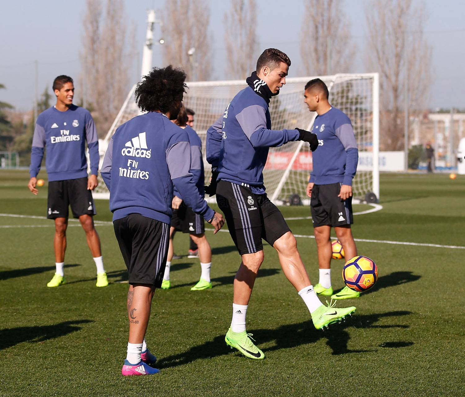 Real Madrid - Entrenamiento del Real Madrid - 17-02-2017