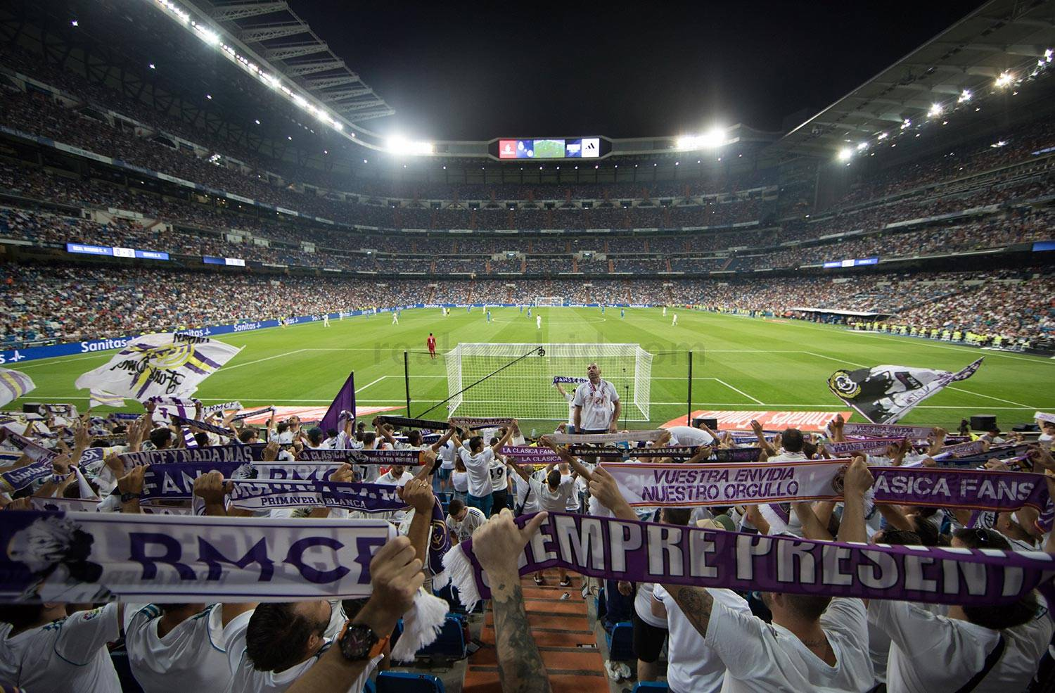 Real Madrid - Real Madrid - Getafe - 19-08-2018