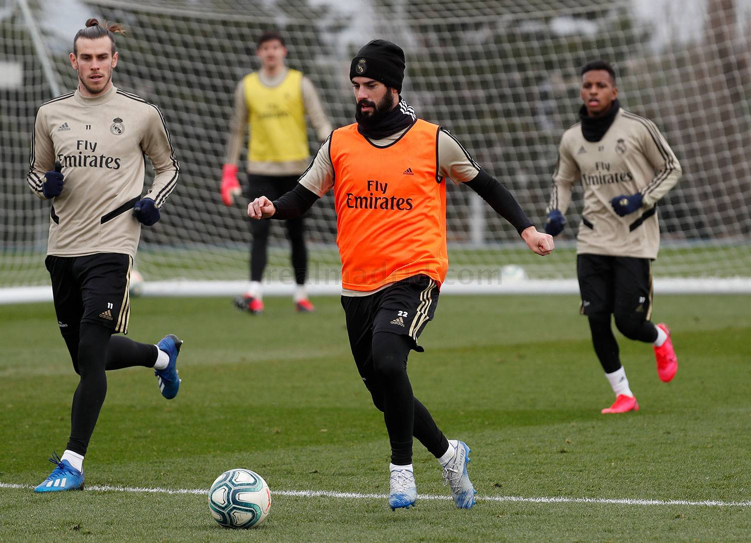 Real Madrid - Entrenamiento del Real Madrid  - 30-01-2020