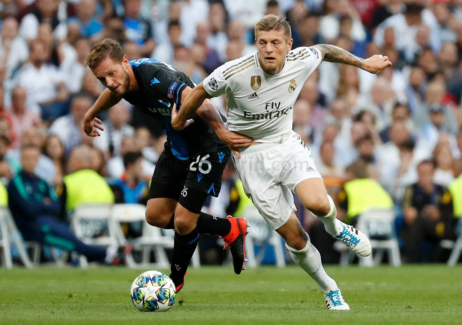 Real Madrid - Real Madrid - Brujas - 01-10-2019