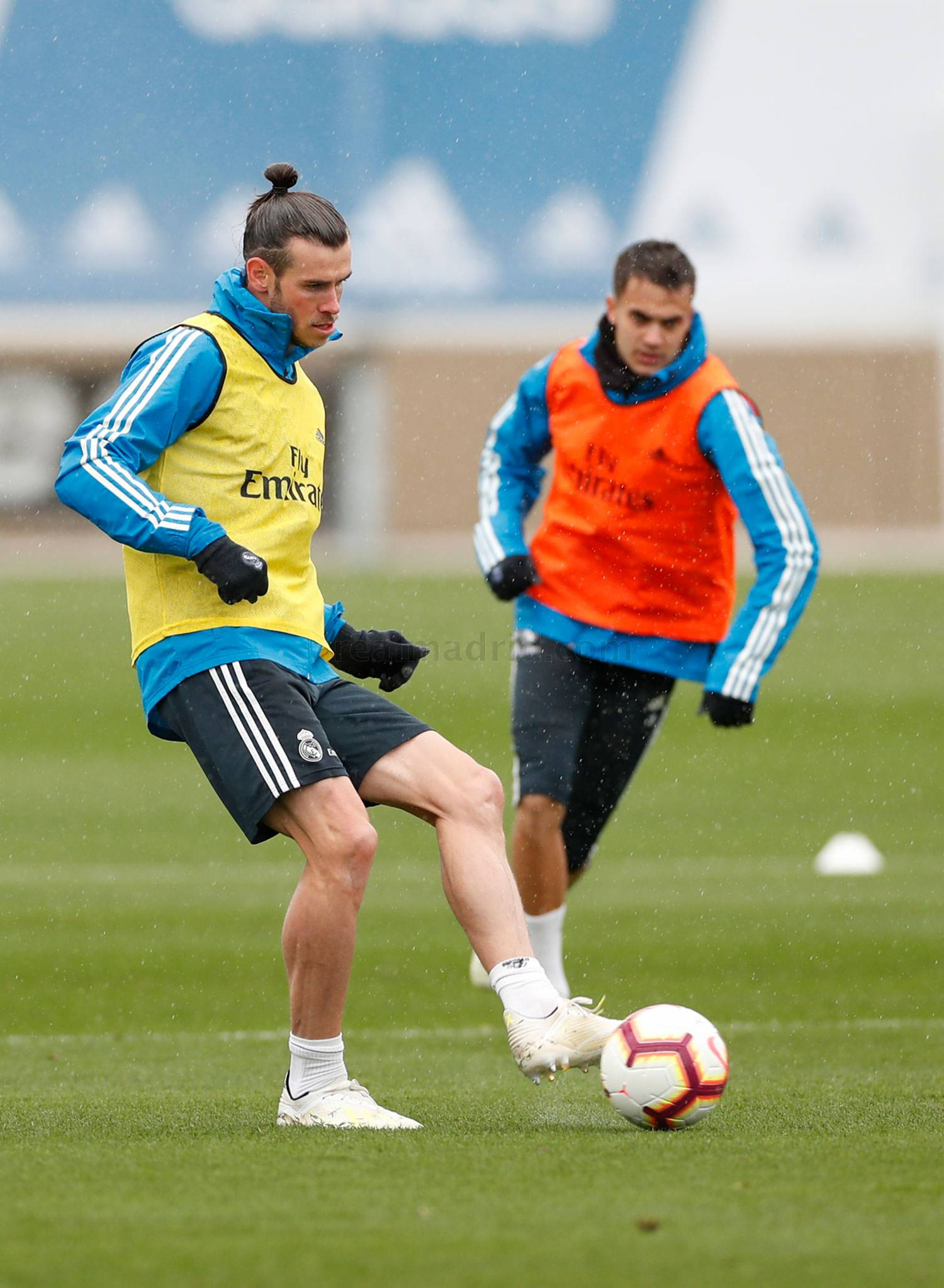 Real Madrid - Entrenamiento del Real Madrid - 18-04-2019