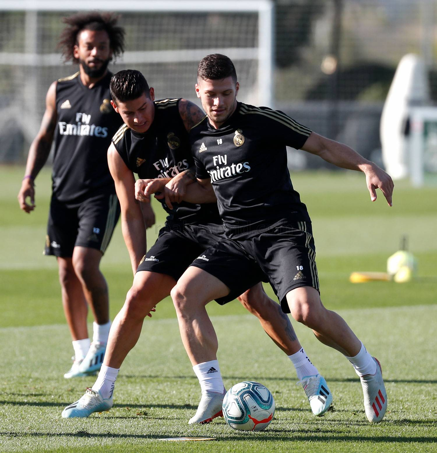 Real Madrid - Entrenamiento del Real Madrid  - 11-09-2019