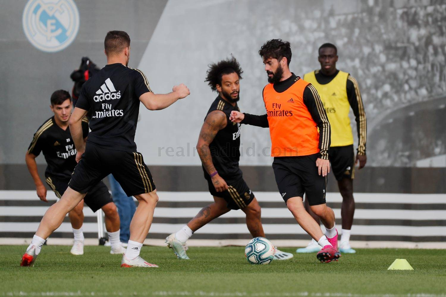 Real Madrid - Entrenamiento del Real Madrid  - 14-10-2019