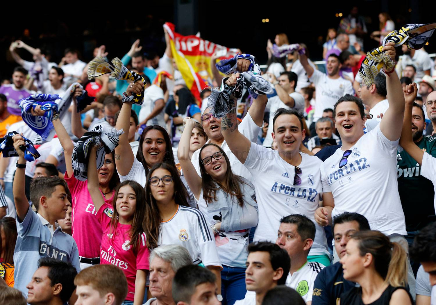 The Champions League final was also won at the Bernabéu | Photos | Real Madrid CF