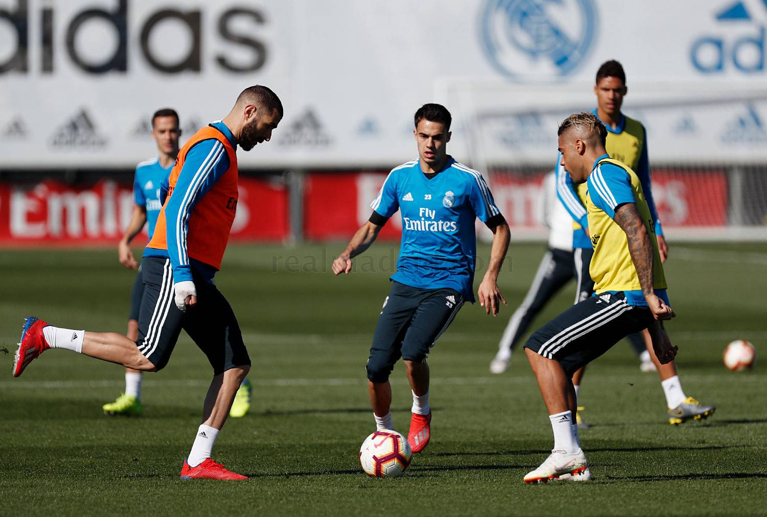 Real Madrid - Entrenamiento del Real Madrid - 01-03-2019
