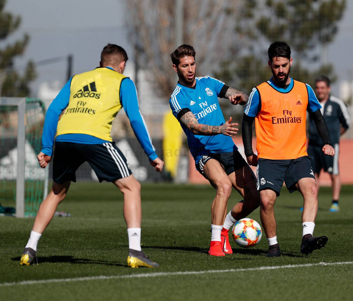 Real Madrid - Entrenamiento del Real Madrid - 25-02-2019