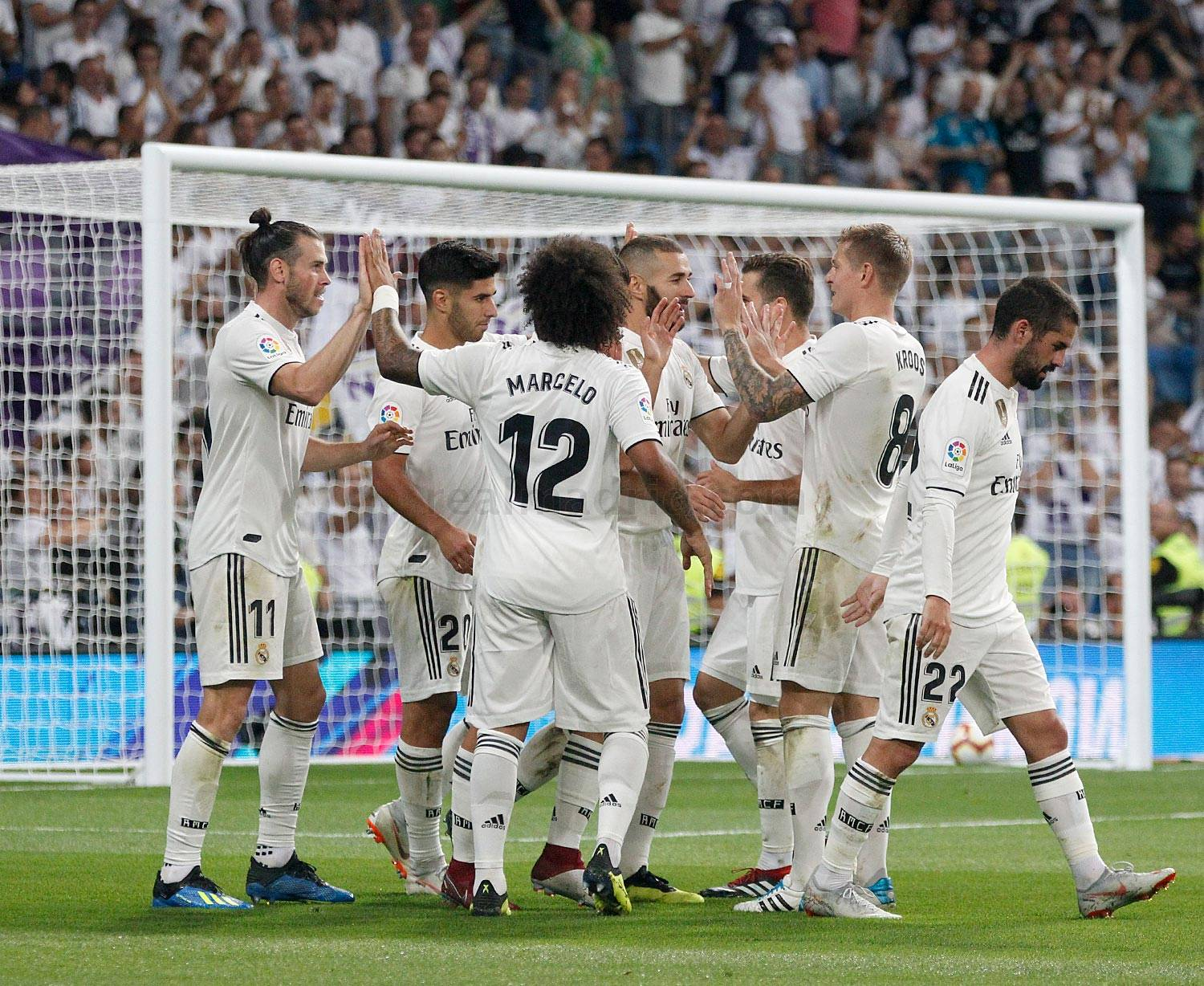 Real Madrid - Real Madrid - Getafe - 20-08-2018