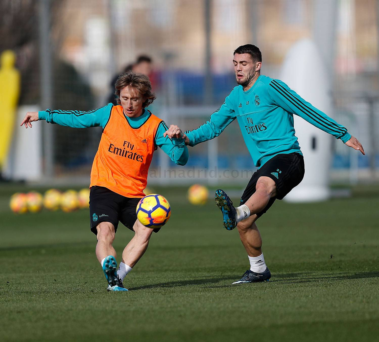 Real Madrid - Entrenamiento del Real Madrid - 26-01-2018