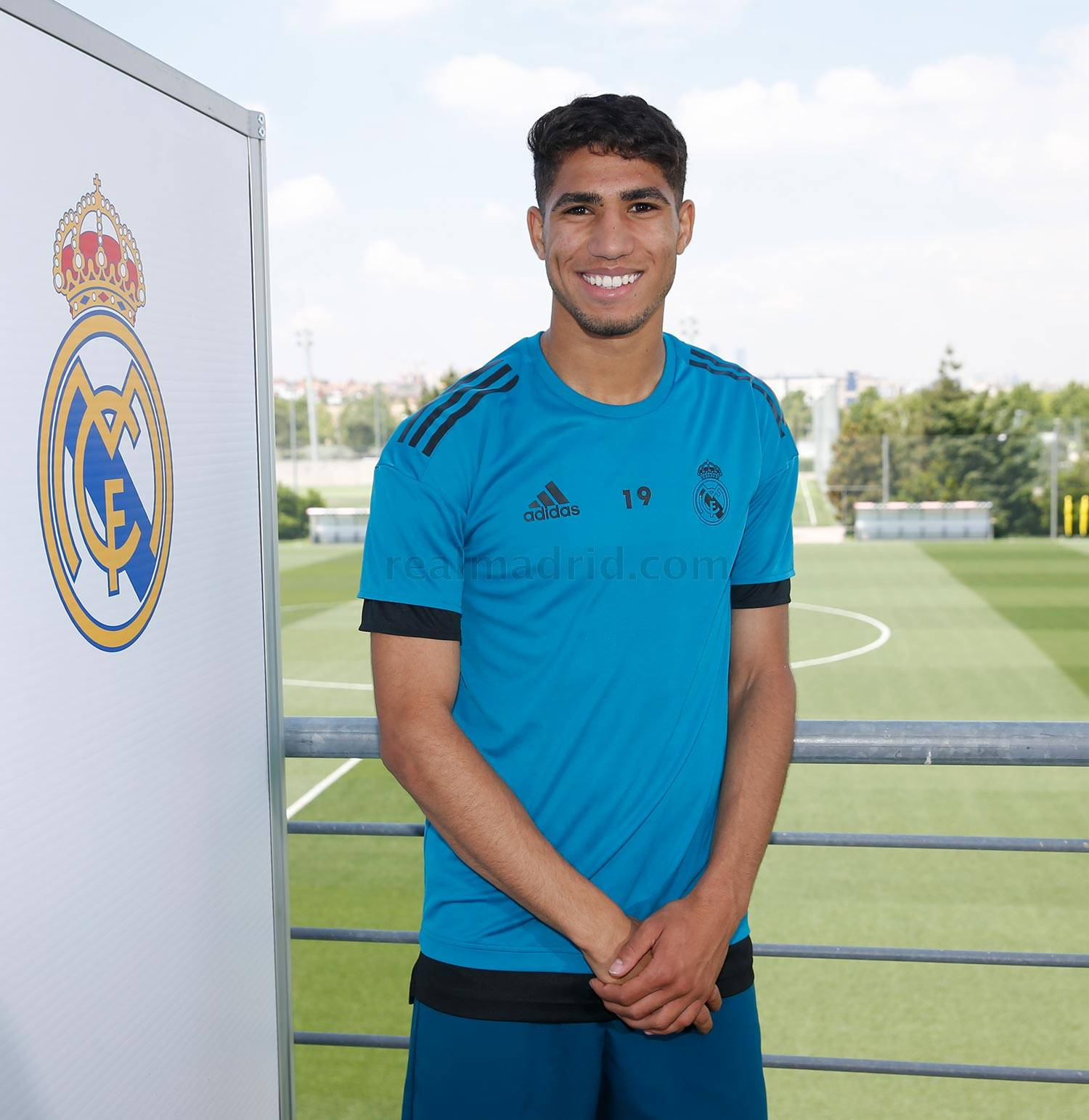 Real Madrid - Achraf durante el Open Media Day 2018 - 22-05-2018