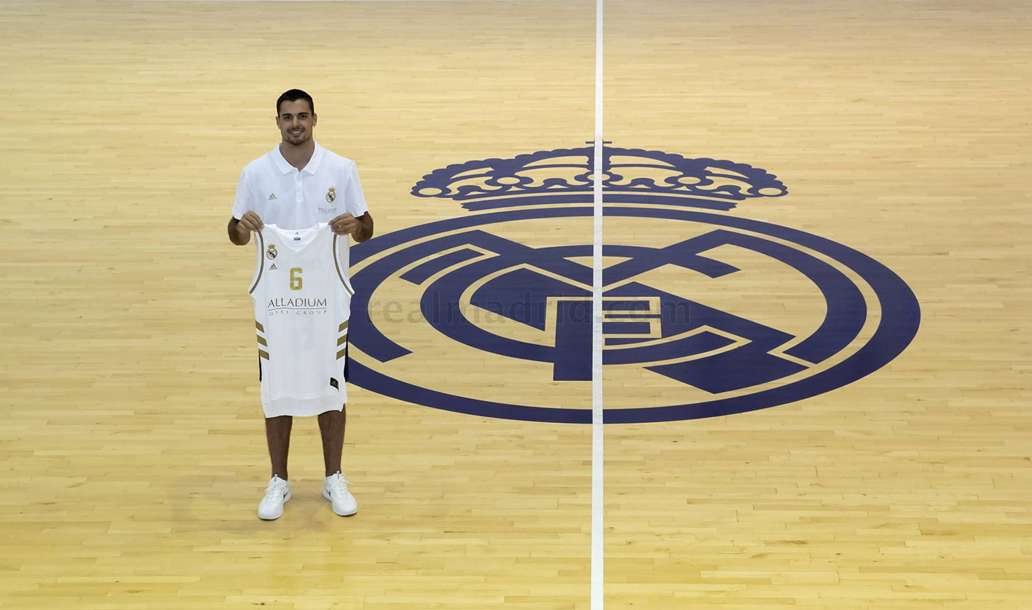 Real Madrid - Alberto Abalde se incorpora al Real Madrid de baloncesto - 21-07-2020