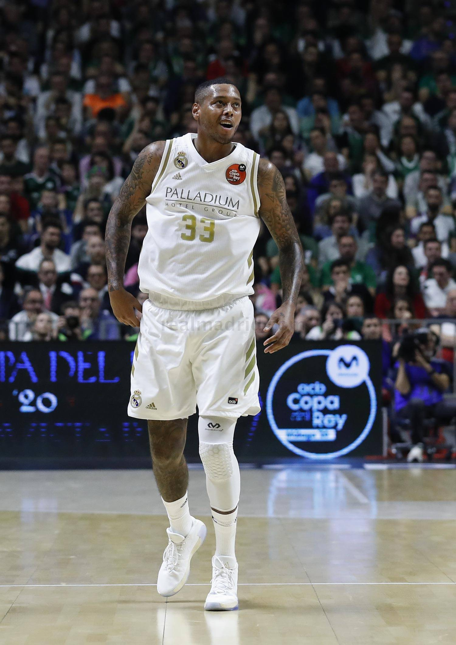 Real Madrid - Trey Thompkins - 09-06-2020