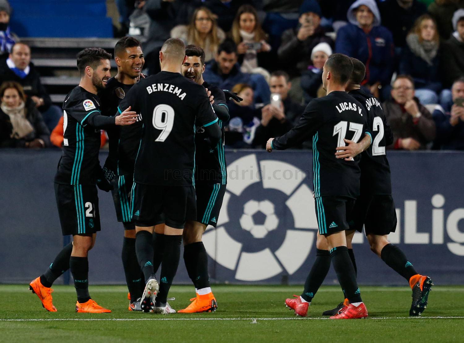 Real Madrid - Leganés - Real Madrid - 21-02-2018