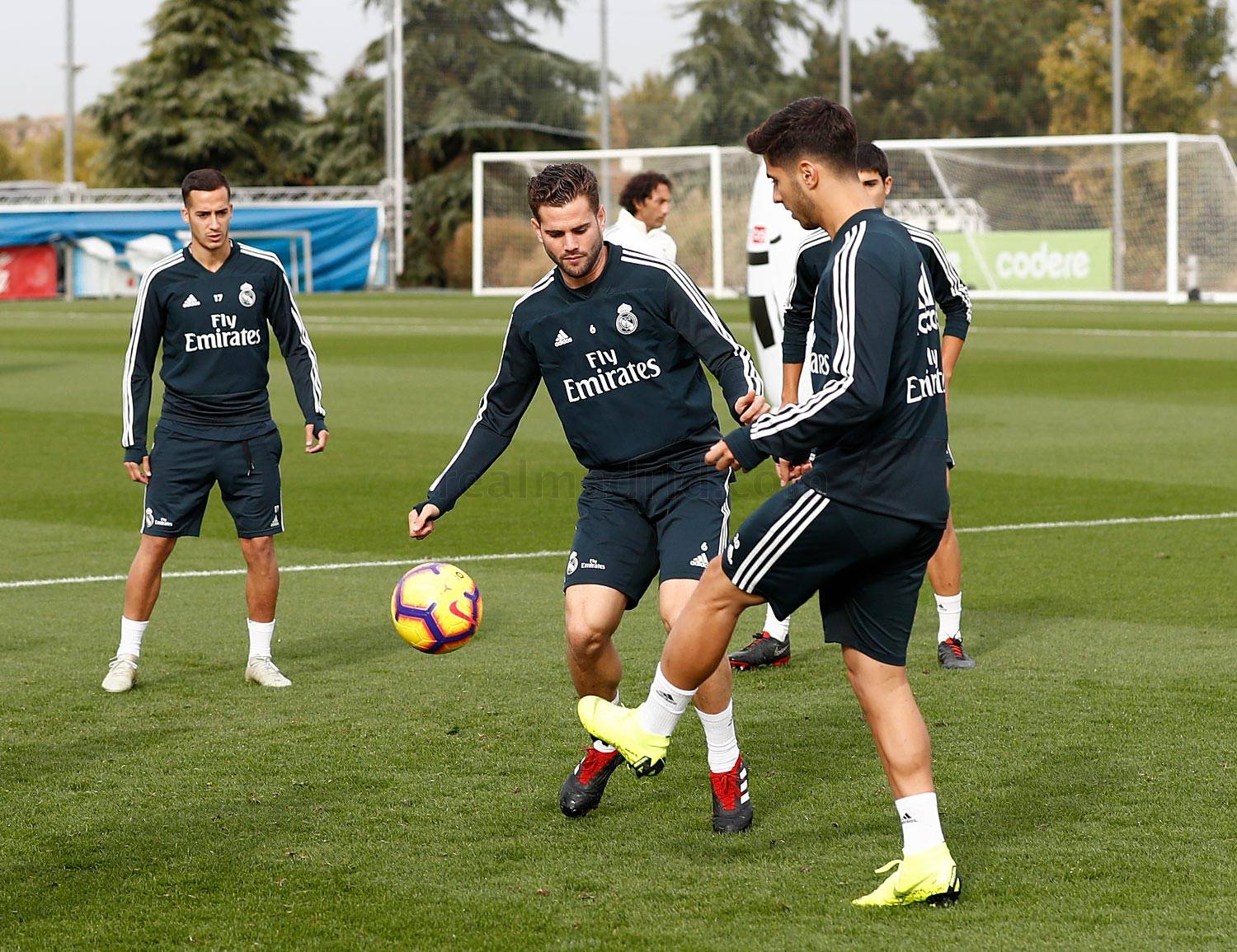 Real Madrid - Entrenamiento del Real Madrid - 26-10-2018
