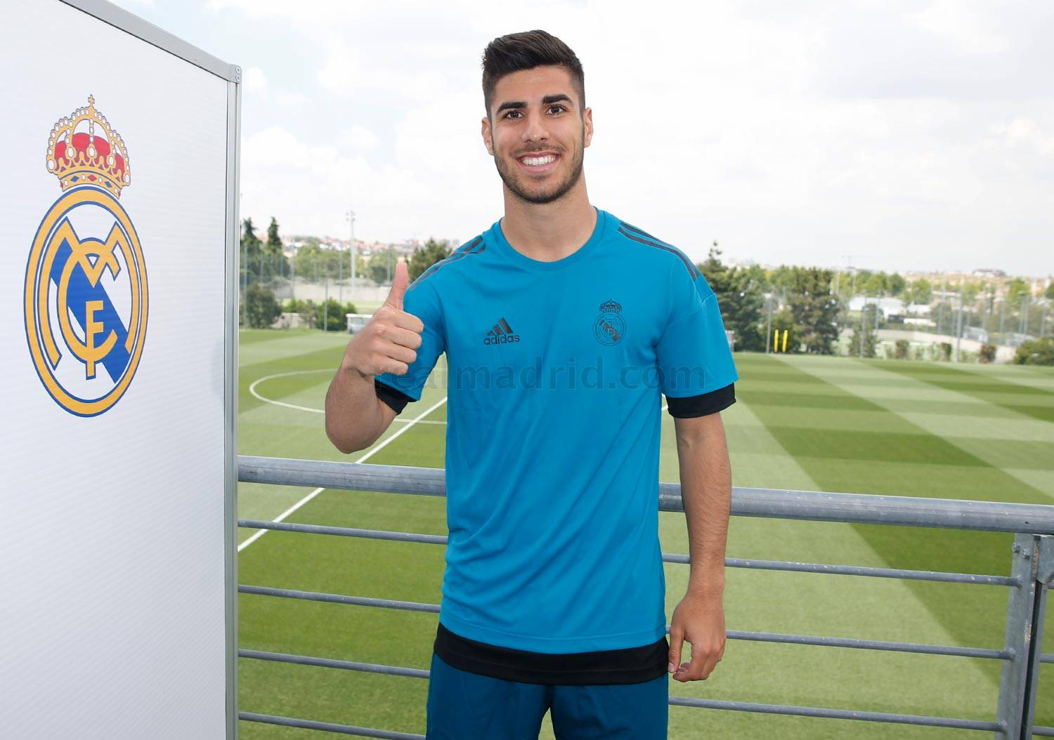 Real Madrid - Asensio durante el Open Media Day 2018 - 22-05-2018