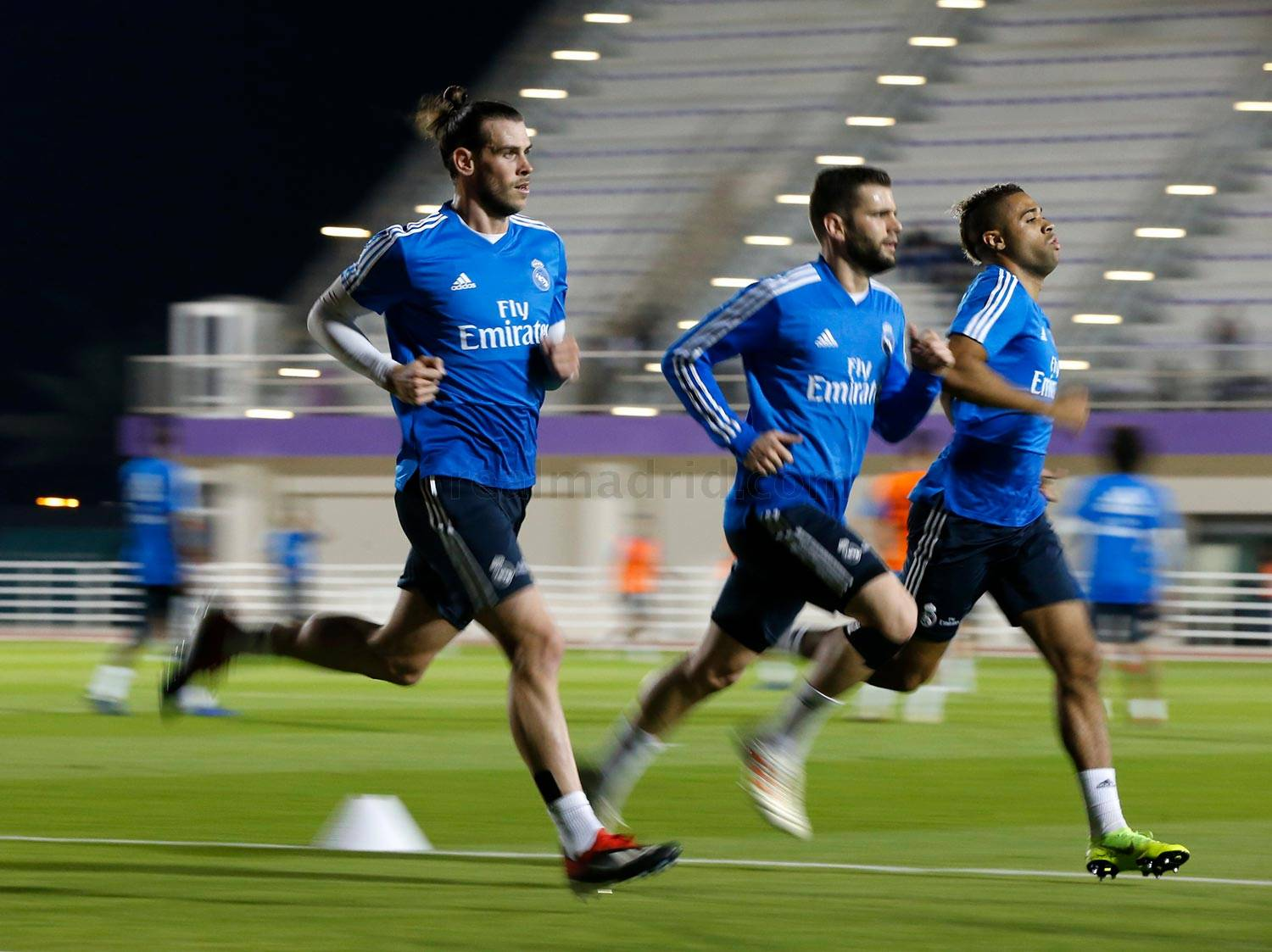 Real Madrid - Entrenamiento del Real Madrid en Abu Dabi - 17-12-2018
