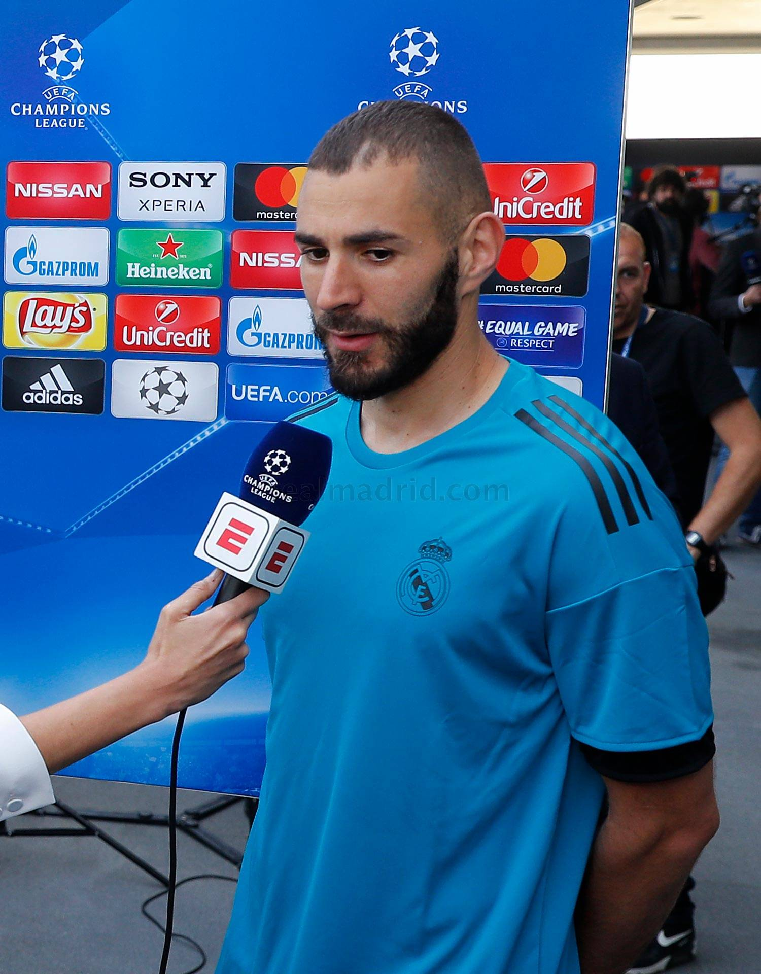 Real Madrid - Benzema durante el Open Media Day 2018 - 22-05-2018