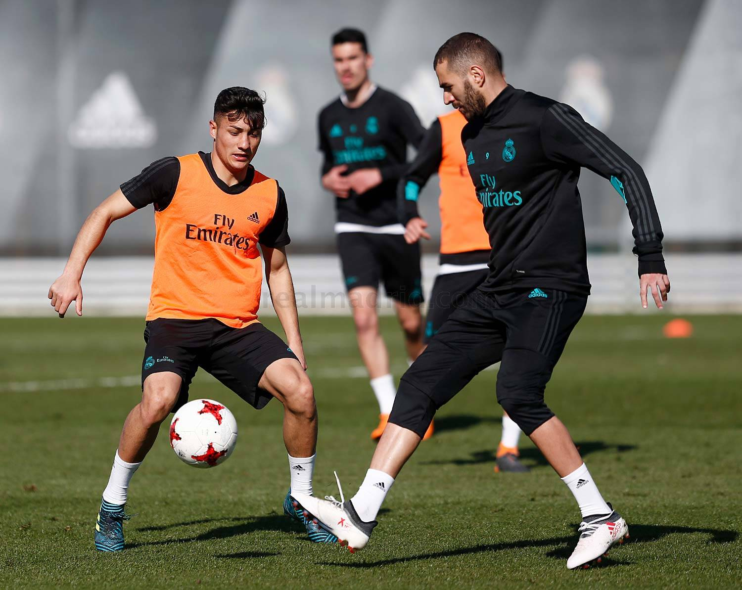 Real Madrid - Entrenamiento del Real Madrid - 26-03-2018