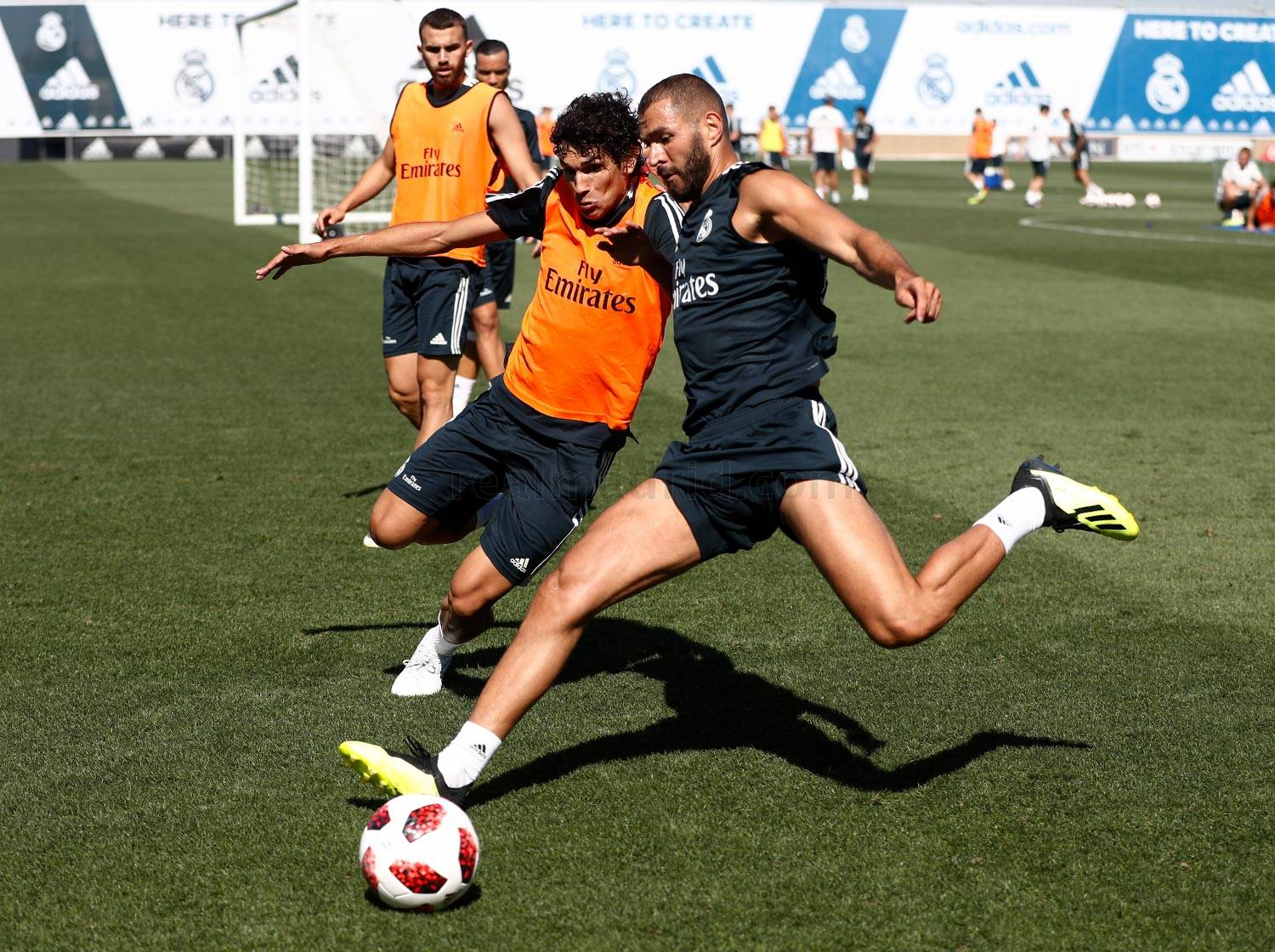 Real Madrid - Entrenamiento del Real Madrid - 24-07-2018